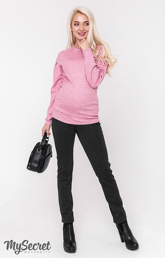 Очень комфортные и теплые брюки-лосины для беременных Eshley warm  антрацитовый e049ccc7bc52c